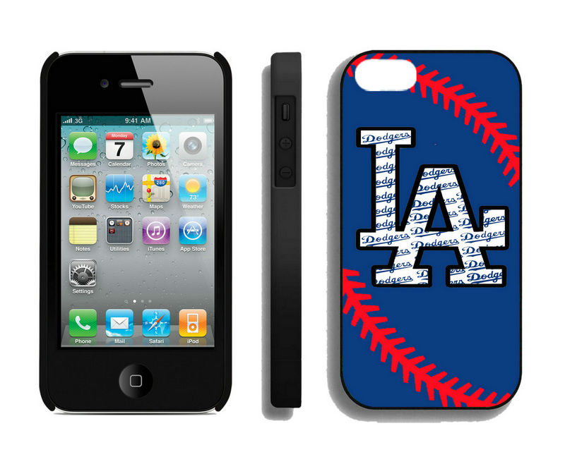 Los Angeles Dodgers-iPhone-4-4S-Case