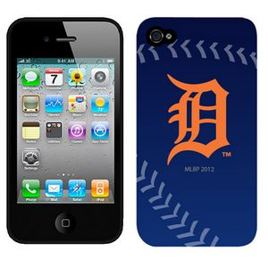 MLB Detrott Tigers Blue Colors IPhone 4-4s Case