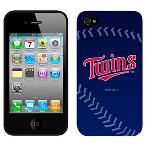 MLB Minnesota Twins Blue Colors Iphone 4-4s Case