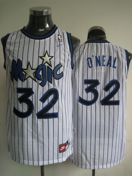 Magic 32 O Neal White Jerseys