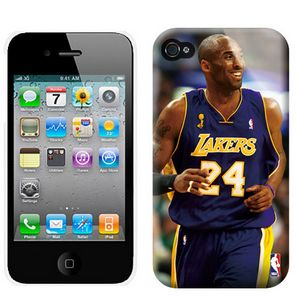 NBA Los Angeles Lakers 24 Bryant Iphone 4-4s Case