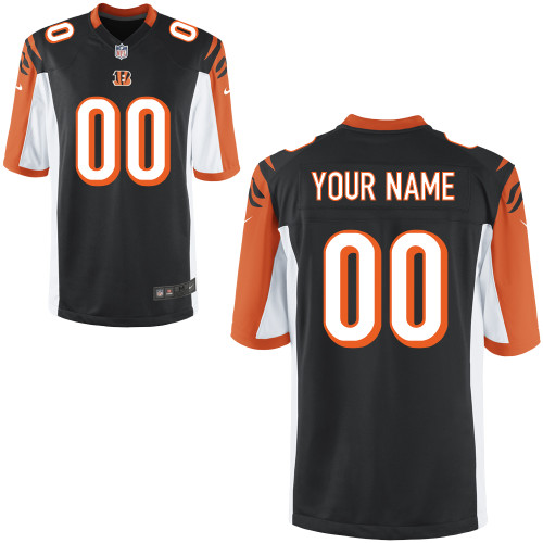 Nike Cincinnati Bengals Youth Customized Game Team Color Jersey