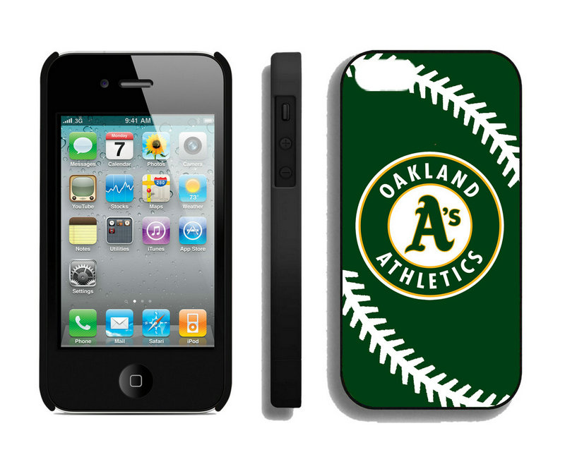 Oakland Athletics-iPhone-4-4S-Case