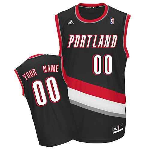 Portland Trail Blazers Youth Custom black Jersey
