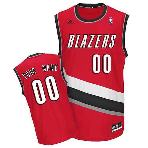 Portland Trail Blazers Youth Custom red Jersey