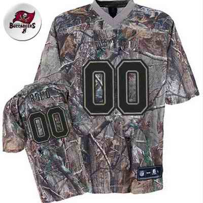 Tampa Bay Buccanneers Men Customized camo Jersey