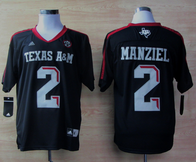 Texas A&M Aggies 2 Johnny Manziel Blue Jerseys