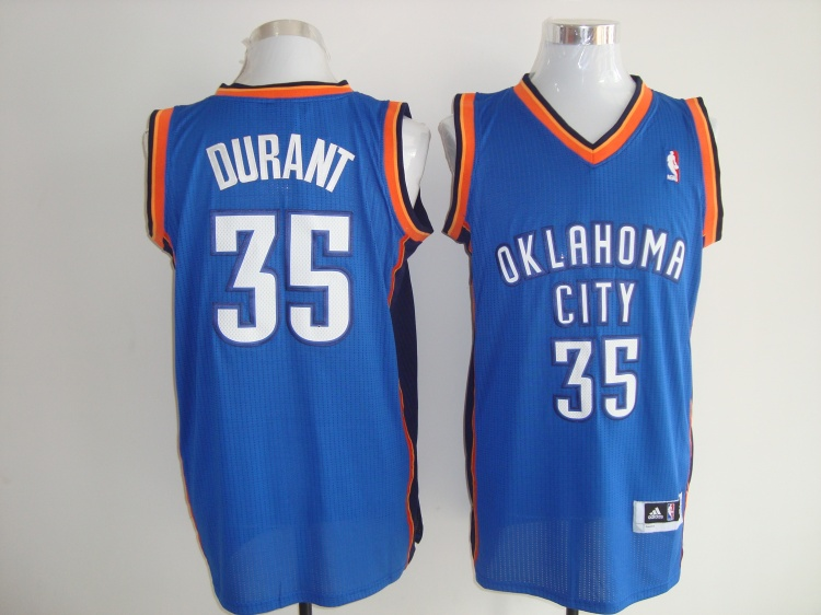 Thunder 35 Durant Blue AAA Jerseys