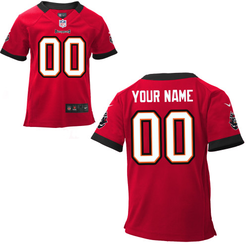 Toddler Nike Tampa Bay Buccaneers Customized Game Team Color Jersey