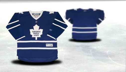 Toronto Maple Leafs Youth Customized Blue Jersey
