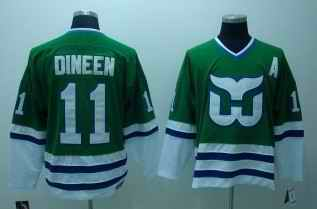 Whalers 11 Dineen Classic Throwback CCM Jerseys