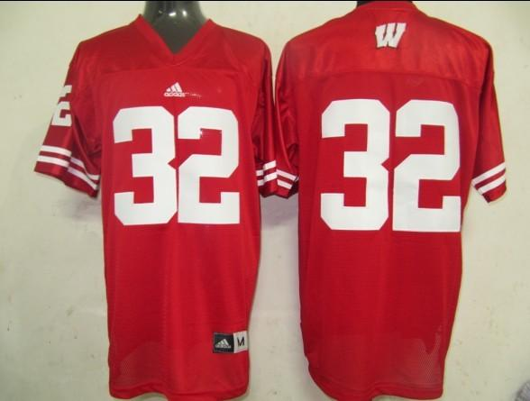 Wisconsin Badgers 32 red Jerseys