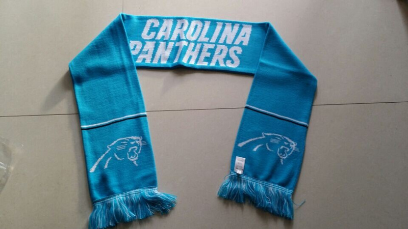 Panthers Light Blue Fashion Scarf