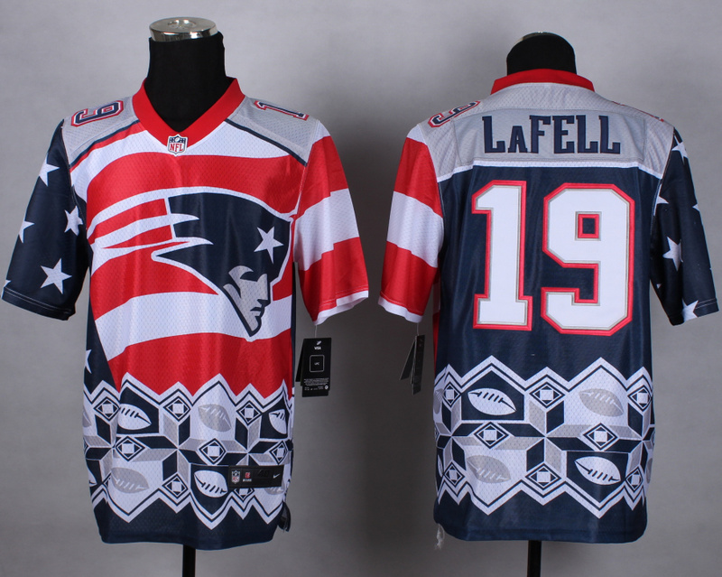 Nike Patriots 19 LaFell Noble Elite Jerseys