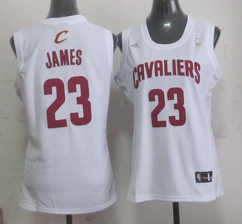 Cavaliers 23 James White Women Jersey