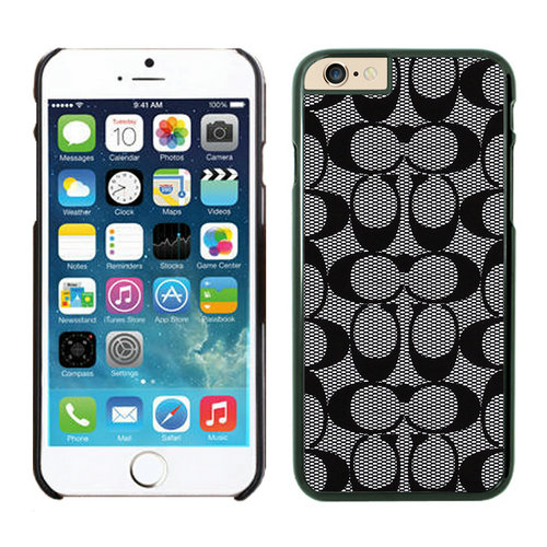 Coach iPhone 6 Cases Black26