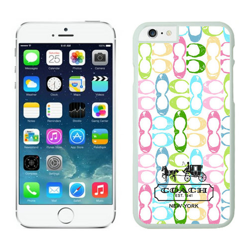 Coach iPhone 6 Cases White13