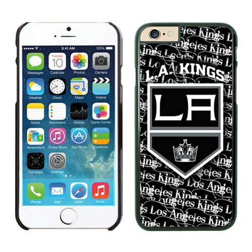 Los Angeles Kings iPhone 6 Cases Black