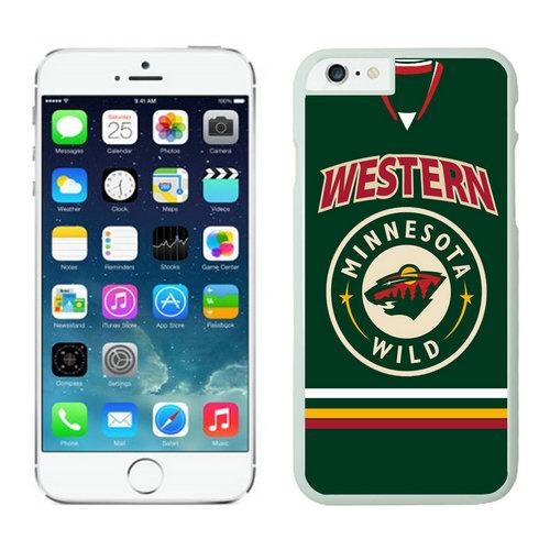 Minnesota Wild iPhone 6 Cases White02