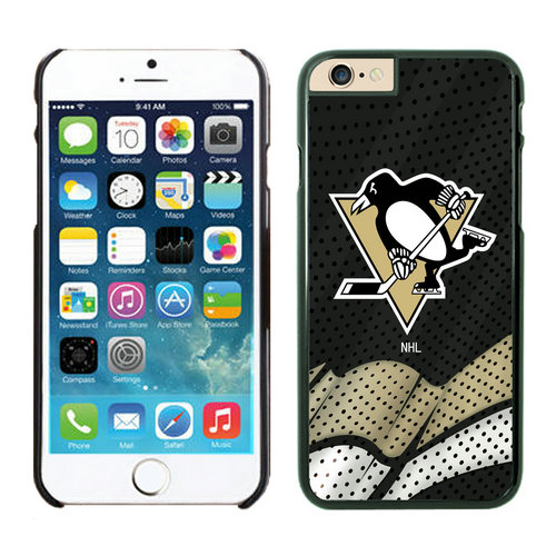 Pittsburgh Penguins iPhone 6 Cases Black02