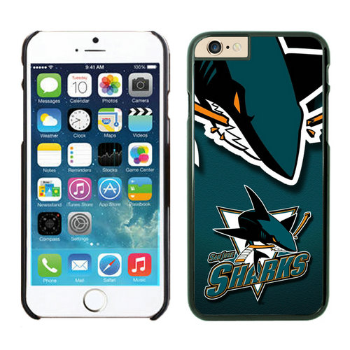 San Jose Sharks iPhone 6 Cases Black