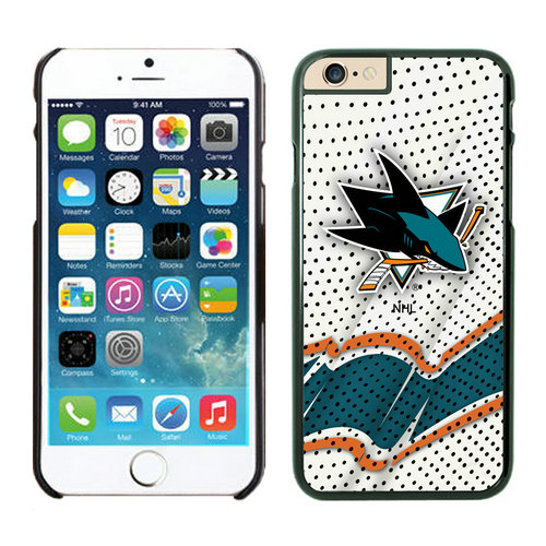 San Jose Sharks iPhone 6 Cases Black03