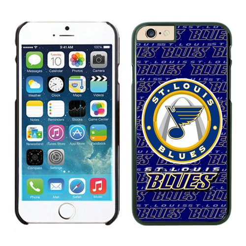 St.Louis Blues iPhone 6 Cases Black