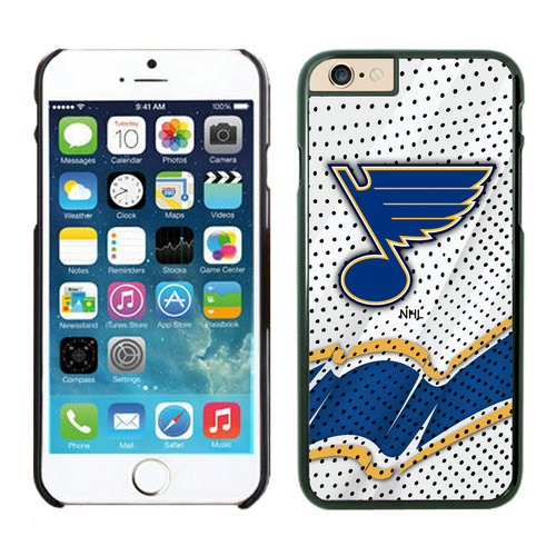 St.Louis Blues iPhone 6 Cases Black03