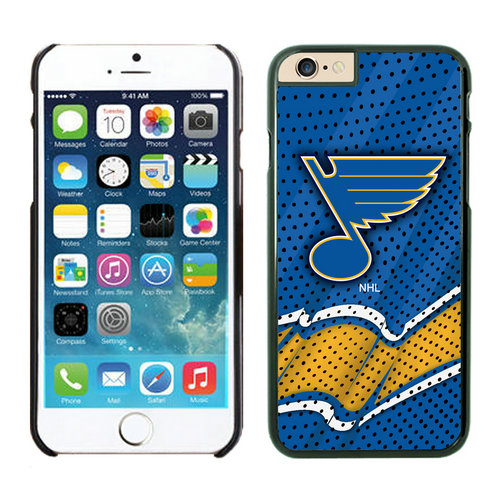 St.Louis Blues iPhone 6 Cases Black04