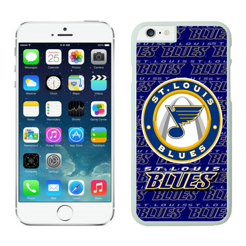 St.Louis Blues iPhone 6 Cases White
