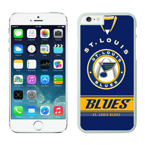 St.Louis Blues iPhone 6 Cases White02