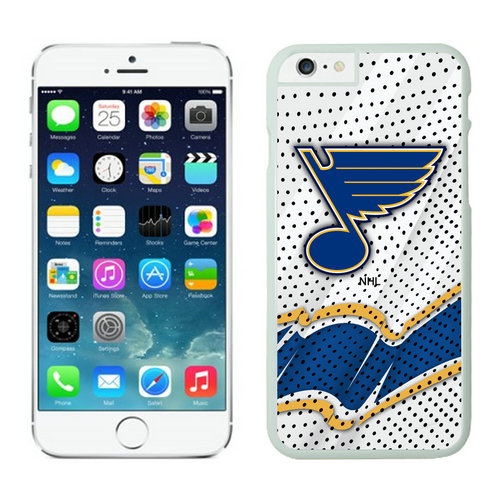 St.Louis Blues iPhone 6 Cases White03