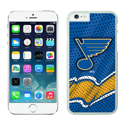 St.Louis Blues iPhone 6 Cases White04