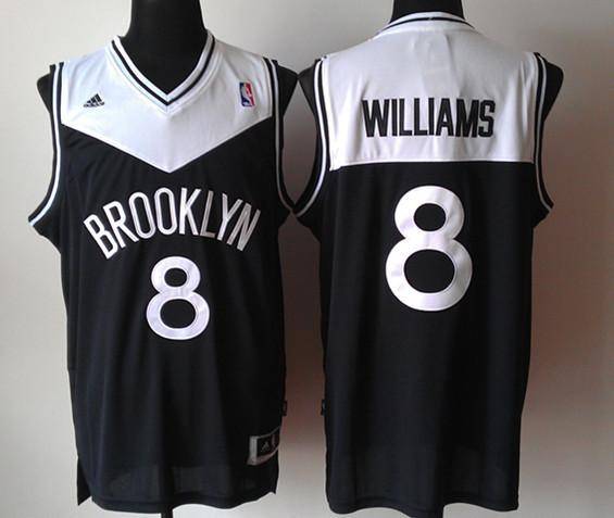 Nets 8 Williams Black New Revolution 30 Jerseys