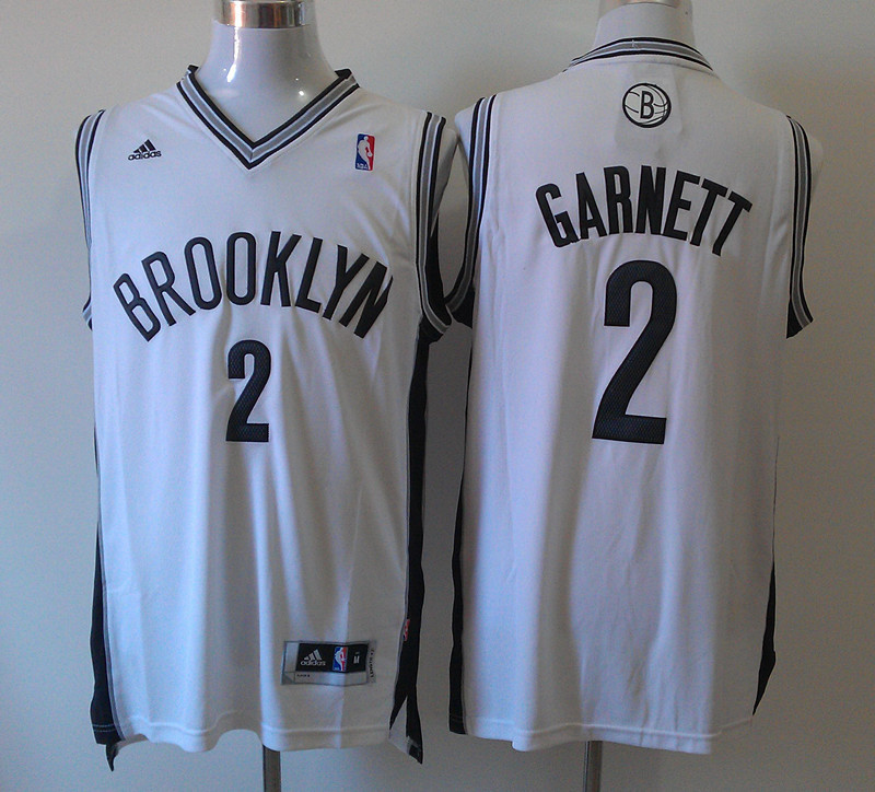 Nets 2 Garnett White New Revolution 30 Jerseys