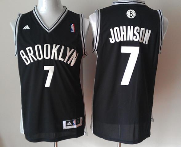 Nets 7 Johnson Black New Revolution 30 Jerseys