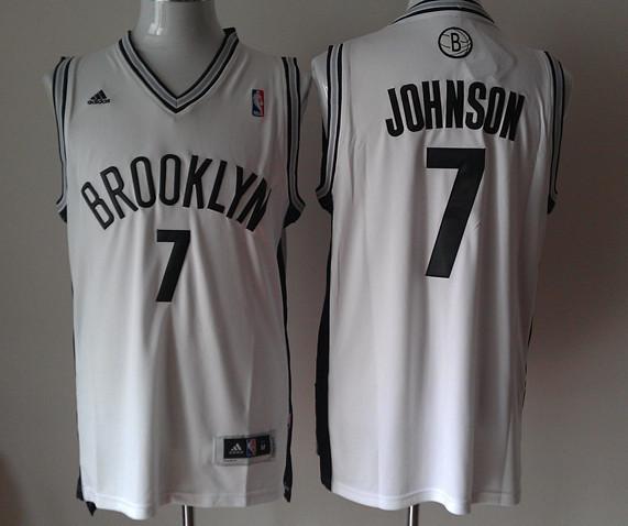 Nets 7 Johnson White New Revolution 30 Jerseys