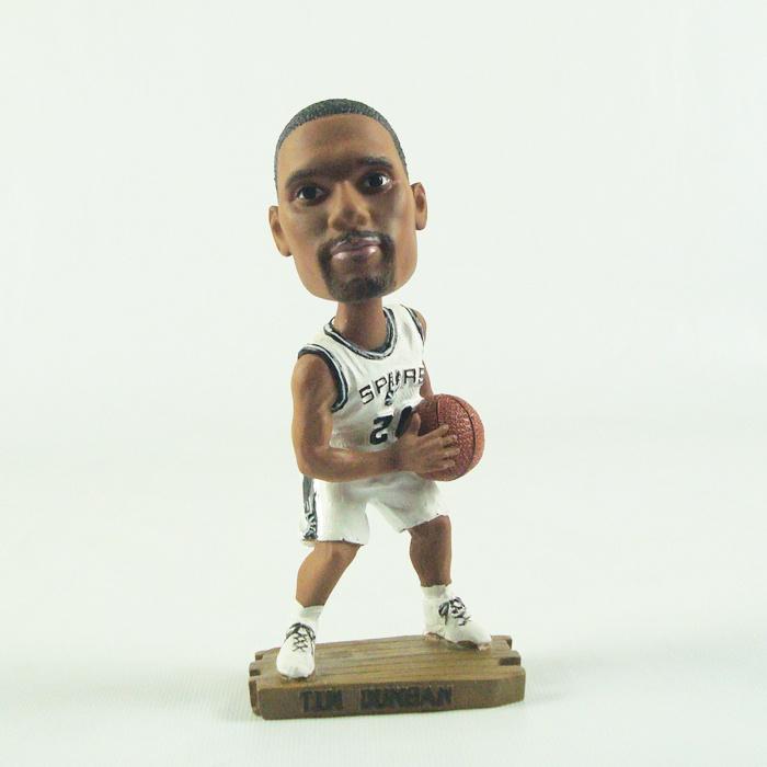 Spurs 21 Tim Duncan Action Figure