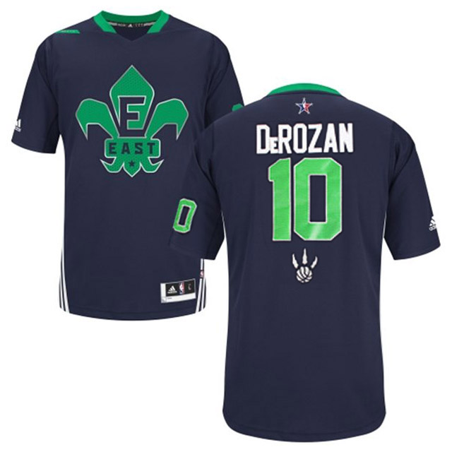 2014 All Star East 10 DeRozan Blue Swingman Jerseys