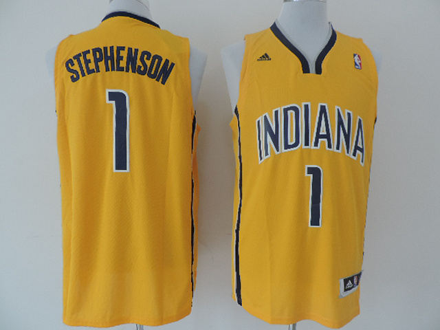 Pacers 1 Stephenson Gold New Revolution 30 Jerseys