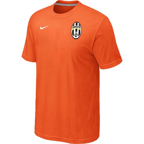 Nike Club Team Juventus Men T-Shirt Orange
