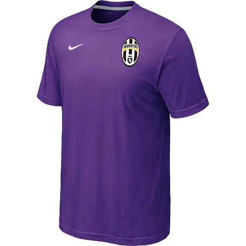 Nike Club Team Juventus Men T-Shirt Purple