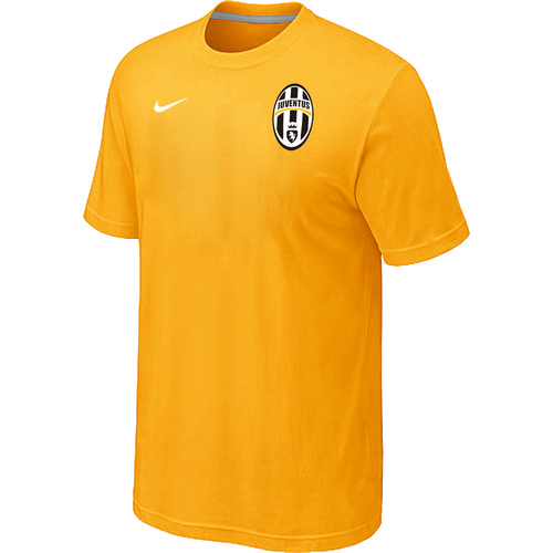 Nike Club Team Juventus Men T-Shirt Yellow