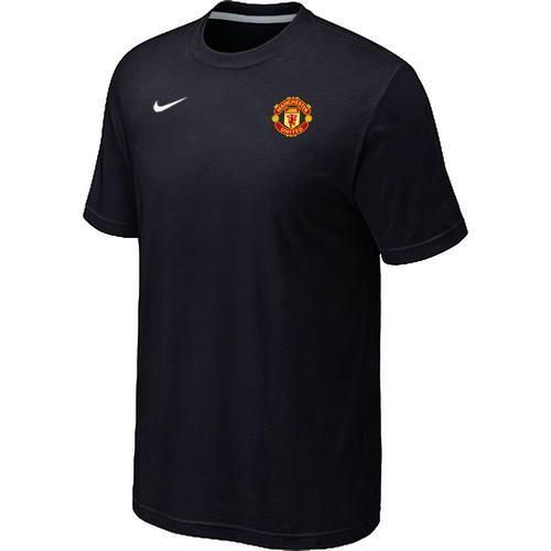 Nike Club Team Manchester United Men T-Shirt Black