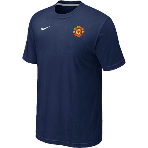 Nike Club Team Manchester United Men T-Shirt D.Blue