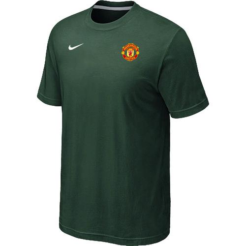 Nike Club Team Manchester United Men T-Shirt D.Green