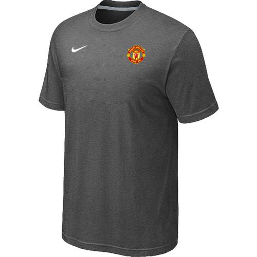 Nike Club Team Manchester United Men T-Shirt D.Grey