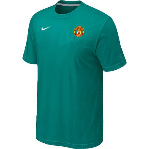 Nike Club Team Manchester United Men T-Shirt Green