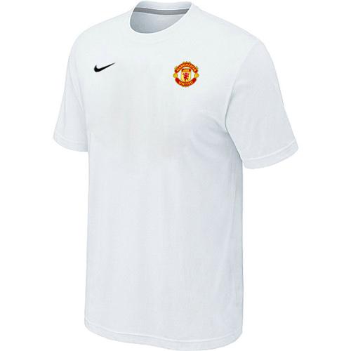 Nike Club Team Manchester United Men T-Shirt White