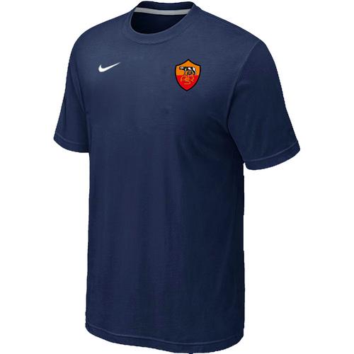 Nike Club Team Roma Men T-Shirt D.Blue